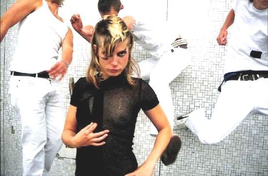 Sängerin Mieze von der Band Mia nackt