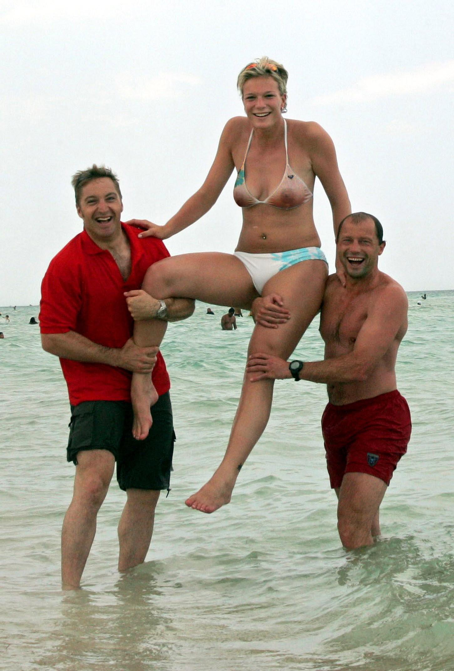Deutsche und Österreichische Sportlerinnen nackt