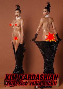 kim kardashian nackt