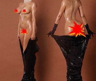 Kim Kardashian nackt und Jennifer Lawrence nackt