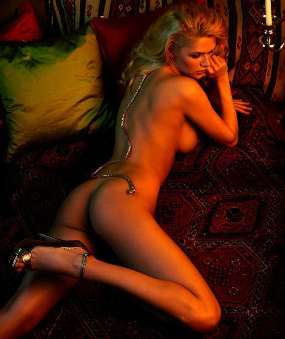 Angelina Heger und Sara Kulka nackt im Playboy